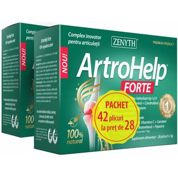 ArtroHelp Forte x 28 plicuri + 14 cadou | Catena | Preturi mici!