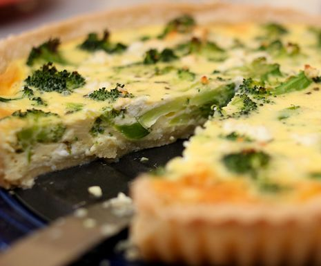 Brokoli-quiche