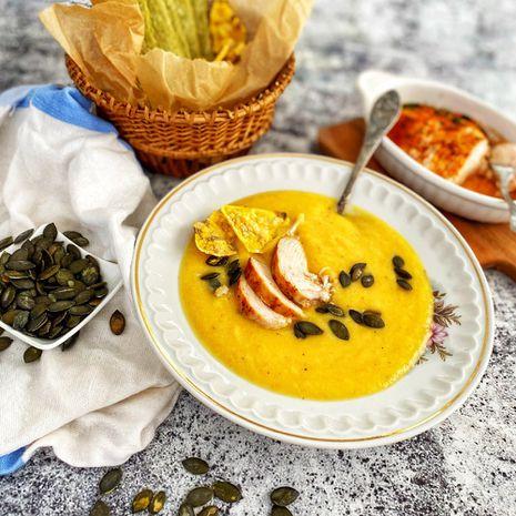 Trinta daržovių sriuba su vištiena