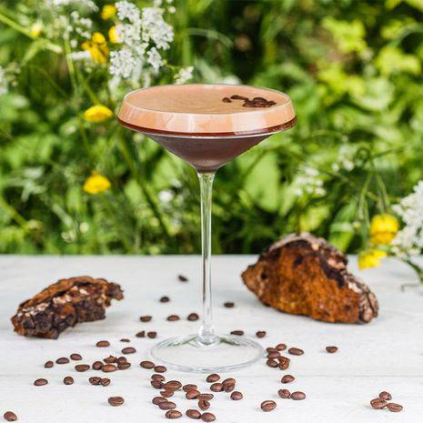 Bezalkoholiskais kokteilis COFFE a la CHAGA