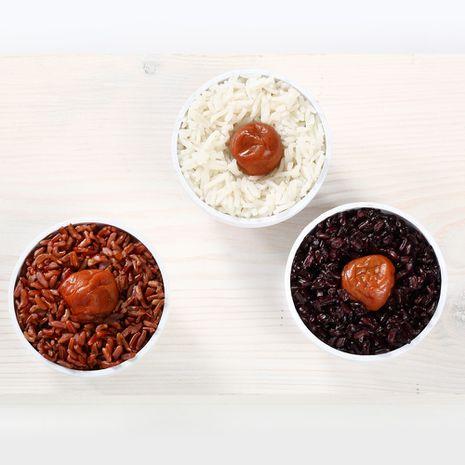 Superkąsniai – Umeboshi su ryžiais
