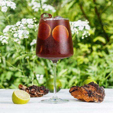 Bezalkoholiskais kokteilis CHAGA BLACK'N BERRY