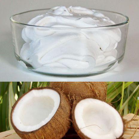 Plakta kokosų grietinėlė