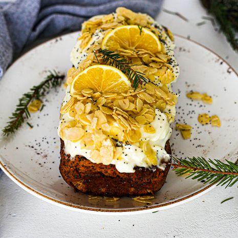 Veganiškas pyragas su aguonomis