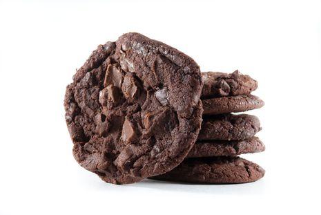 Šokoladiniai-cinamoniniai sausainiai