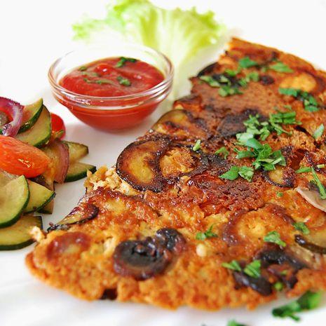 Veganiškas tofu omletas