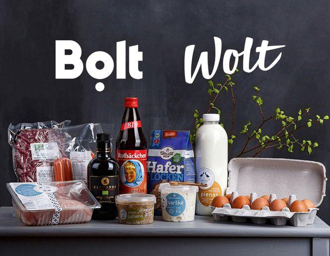 LIVIN produktai jau Wolt ir Bolt Food programėlėse!