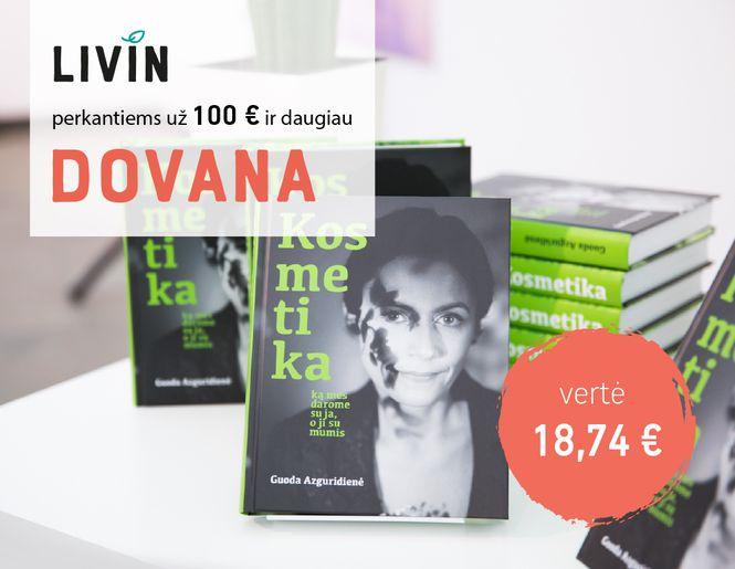 DOVANA – knyga apie kosmetiką | Akcija