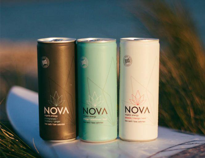 Kitokie energiniai gėrimai NOVA l Naujiena