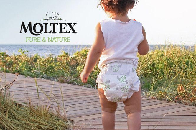 Ekologiškos sauskelnės MOLTEX – švelnios kūdikiui, draugiškos aplinkai