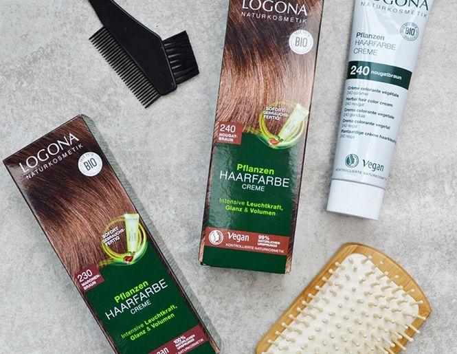 """Īsta dabas dāvana matiem - """"Logona"""" augu izcelsmes matu krāsa"""